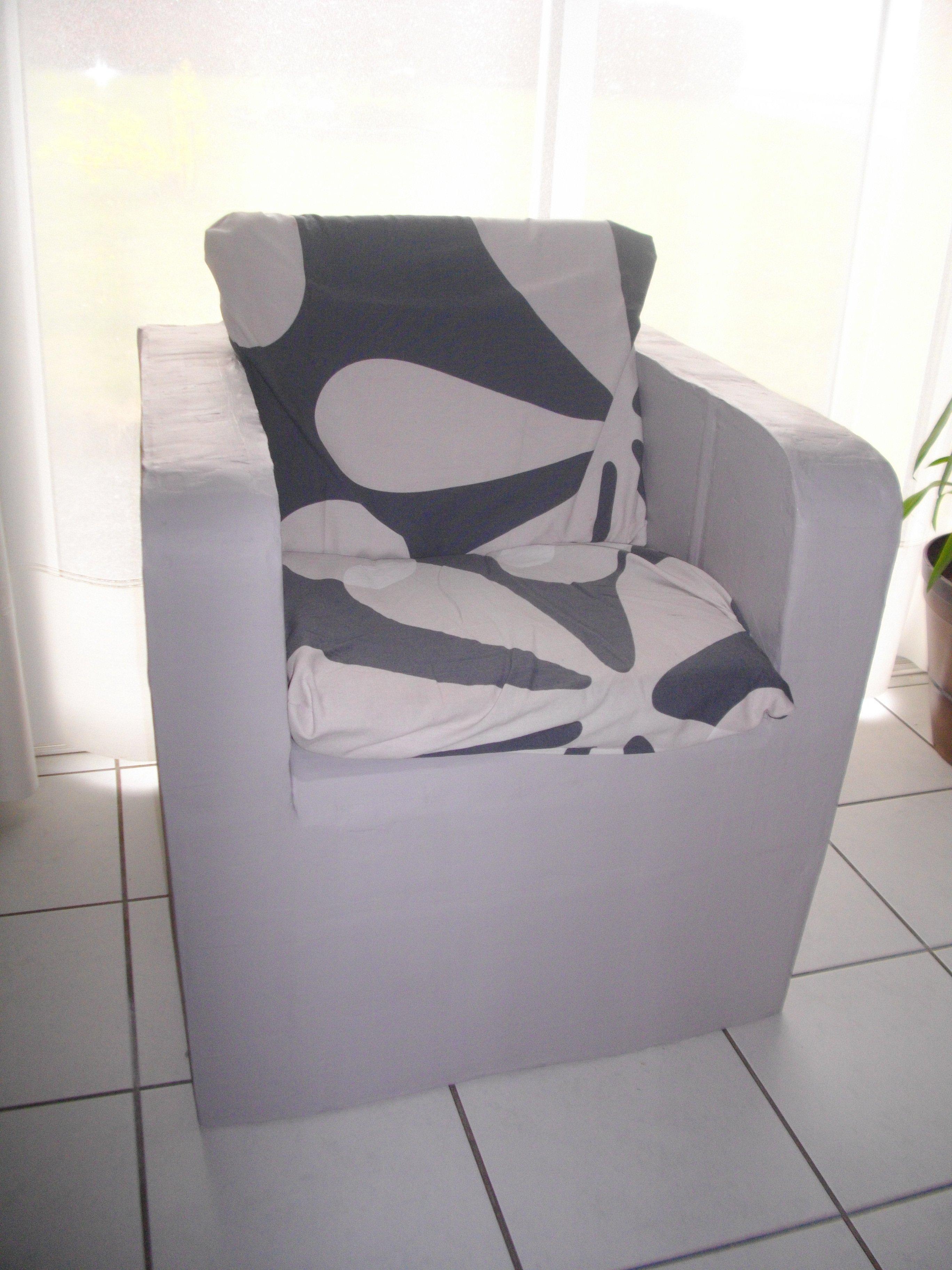 meubles en carton crea kris deco. Black Bedroom Furniture Sets. Home Design Ideas